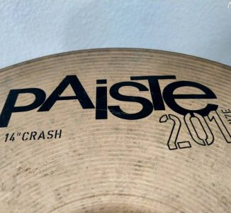 Paiste 201 14″ Bronze Crash