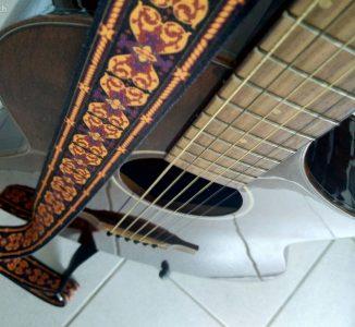 Ibanez A-Gitarre Artwood Natural mit Tonabnehmer
