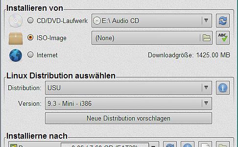 Live USB Install Bootstick erstellen
