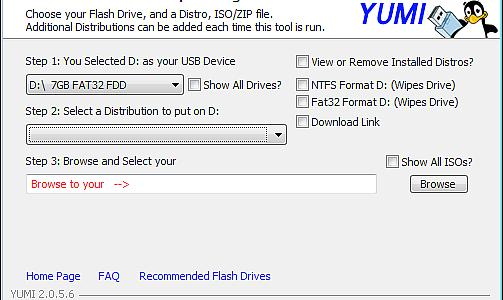 YUMI Multiboot-Stick Creator