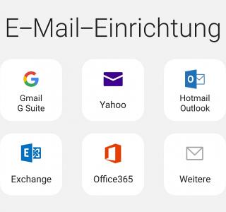 Atmail Adresse bei Android einrichten