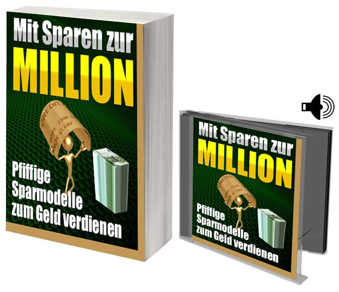 e-book cover mit Sparen zur Million 5012