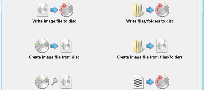 ImgBurn Image-Dateien brennen