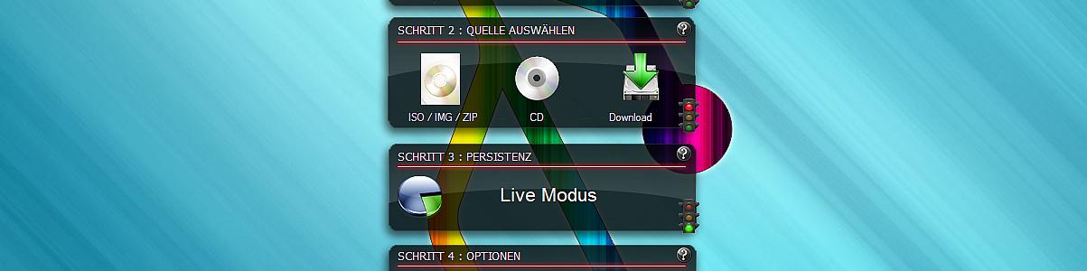 USB-Creator für Linux Live
